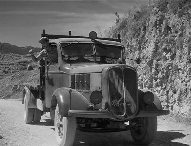 1946 Alfa Romeo 350 in Desiderio, Movie.