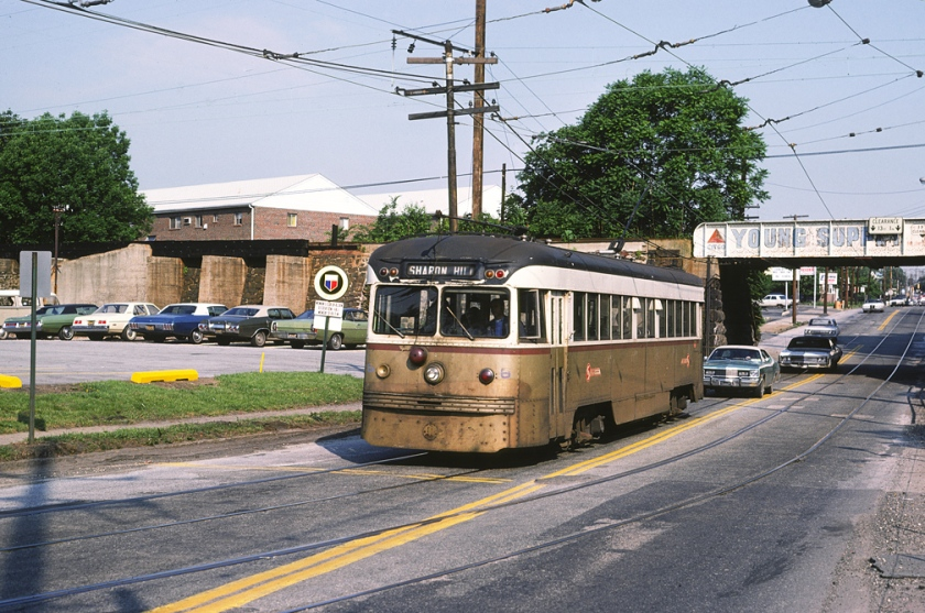 1946 SEPTA_6_Springfield_Rd_at_Woodlawn