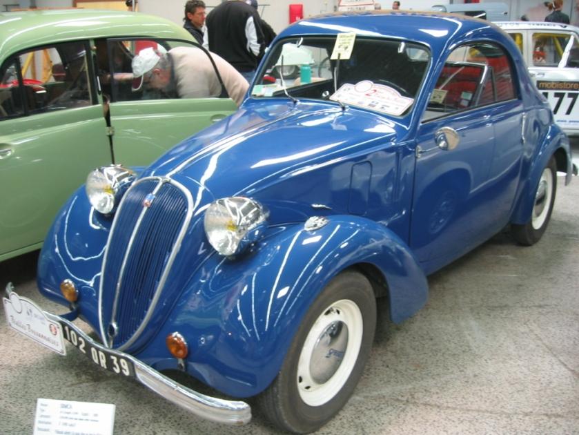 1946 Simca 8 coupé deux places (2 seat coupé)