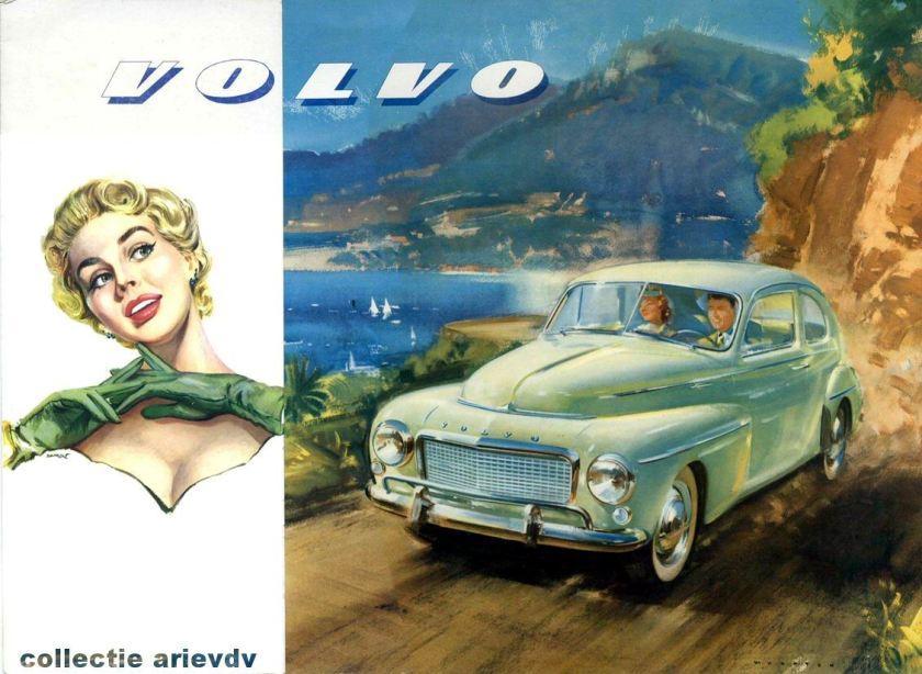1946 Volvo 444 Katterug Reclame