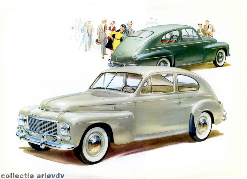 1946 Volvo 444 Reclame