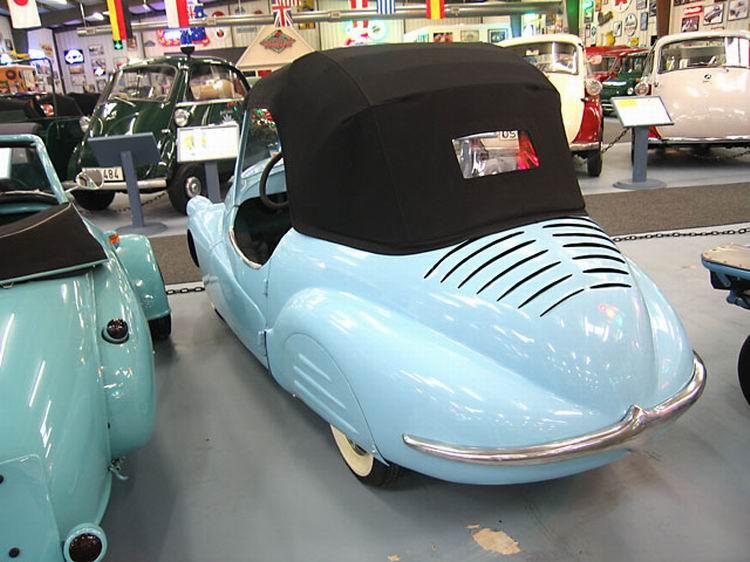 1947 A.L.C.A. Volpe Aero Caproni, Trento ITALY achterkant  125 cc