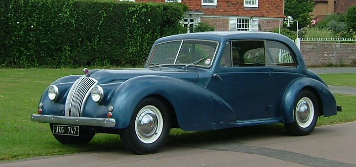 1947 AC 2-litre