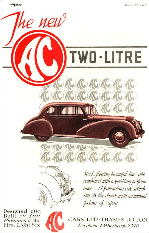 1947 AC saloon