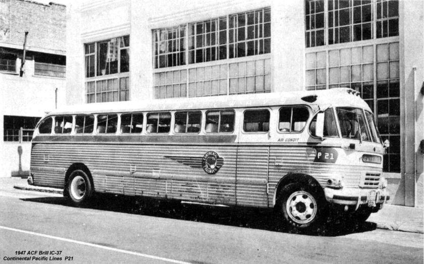 1947 ACF Brill IC-37 P21