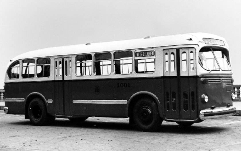 1947 Brill Bus of  Canada