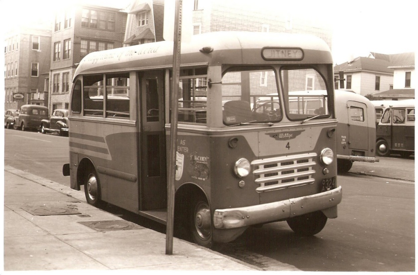 1948 ACF-Brill C-10 Jitney Bus