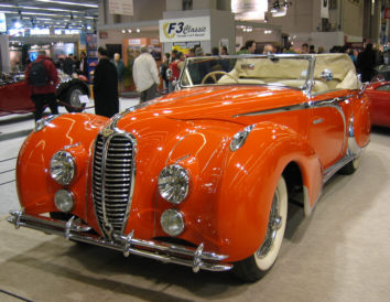 1948 Delahaye 135-MS Figoni&Falaschi Cabriolet