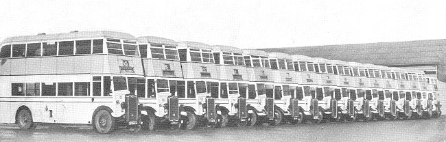 1948 Guy Arab Glasgow Corporation Transport Fleet 23