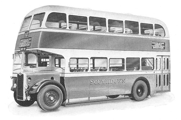 1948 Guy Arab Mark IV Southdown Motor services Limeted 32