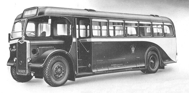 1948 Guy Arab Single decker 2