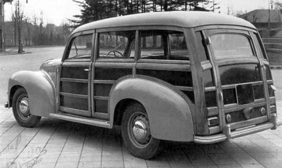 1948 Lancia Aprilia 'Woody' gebouwd door Pietro Frua.