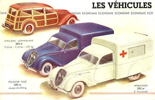 1948 Peugeot 203 canadienne