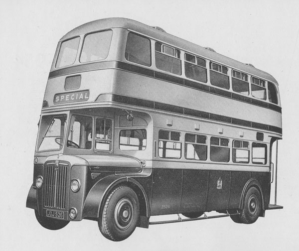 1948 The Arab Mark IV, Guy's most successful bus design