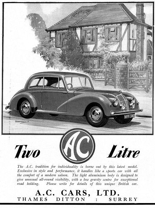 1949 AC 2litre saloon