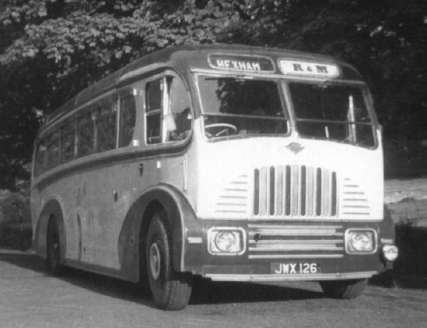 1949 burlingham guy coach rmJWX126
