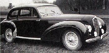 1949 Delahaye 135 coach