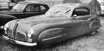 1949 Delahaye ghia aigle