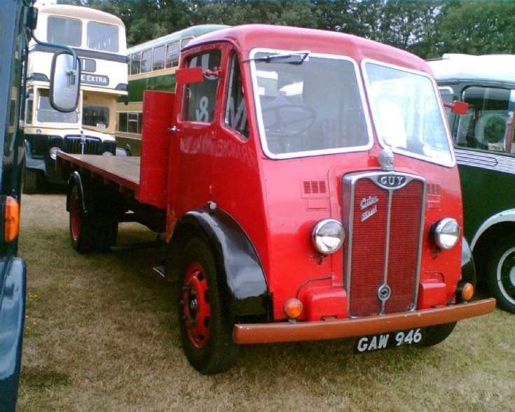 1949 Guy Otter at Black Country Museum