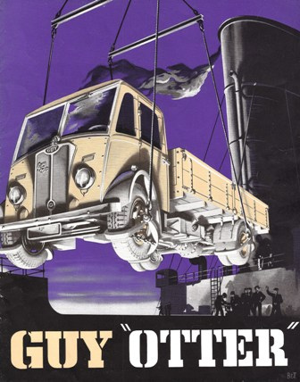 1949 Guy Otter Lorry Brochure