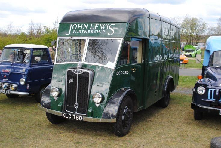 1949 Guy Wolf - Forward Control (FC) Van