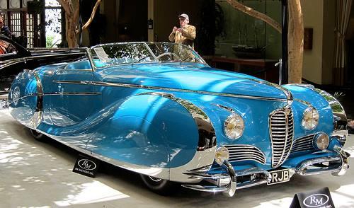 1949 Saoutchik Delahaye 175S Roadster
