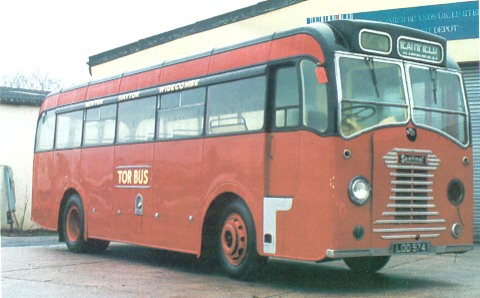 1949 Sentinel rood
