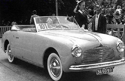1949 Simca Falaschi Figone Sport 8 Convertible