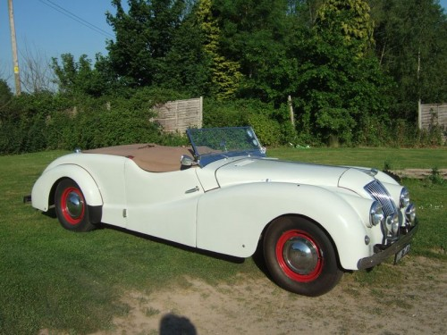 1950 AC 2-Litre Sports Tourer