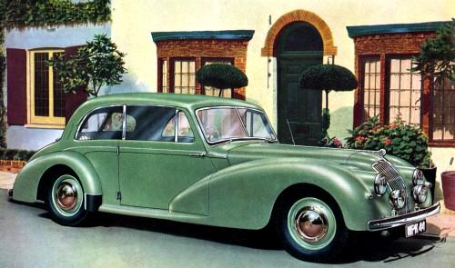 1950 AC 2litre saloon