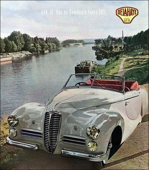 1950 Delahaye saoutchik