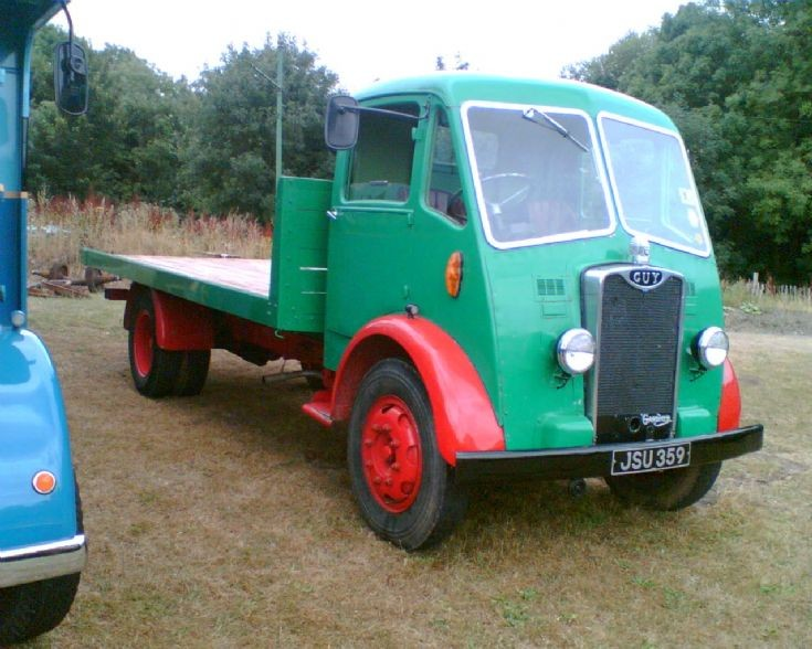 1950 Guy flat bed