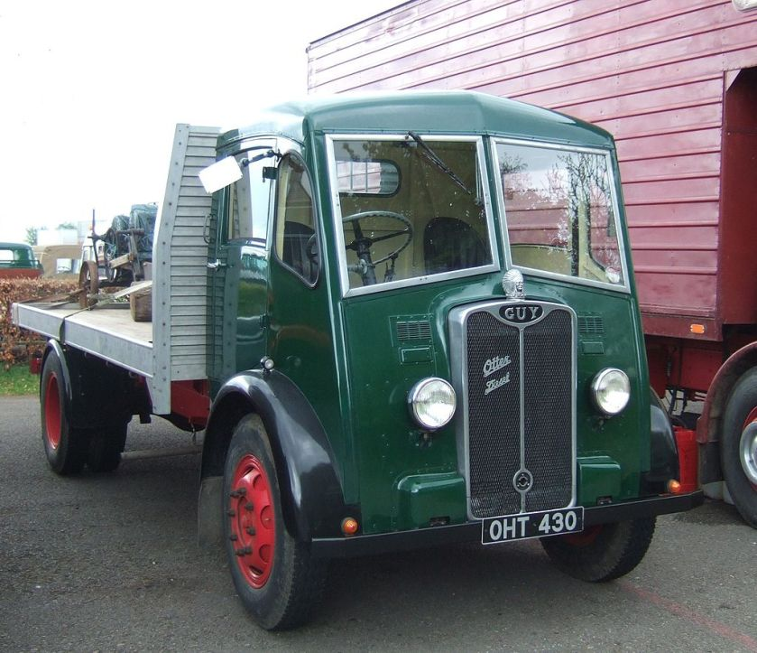 1950 Guy Otter diesel lorry, Castle Combe