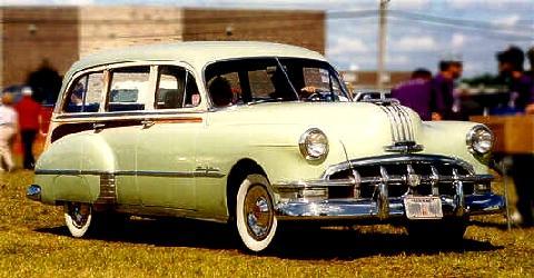 1950 Pontiac Station Wagon Fvr