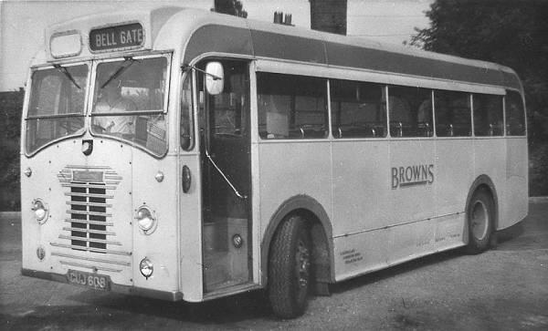 1950 Sentinel STC4, GUJ608