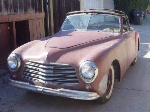 1950 Simca 8 Sport Cabriolet