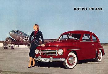 1950 vintage_volvo_ad