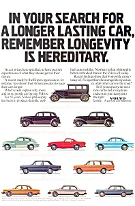 1950 Volvo Ad Cars From 30s to 80s