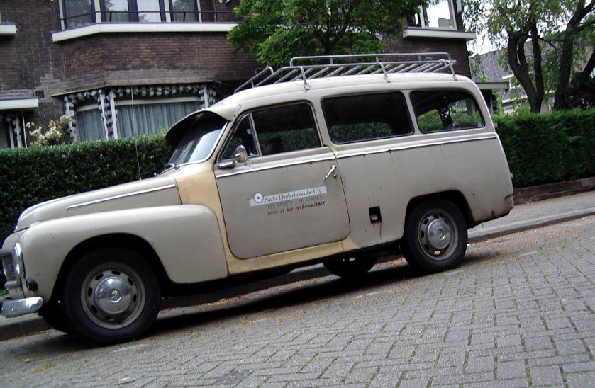 1950 Volvo Duet Kattenrug station d