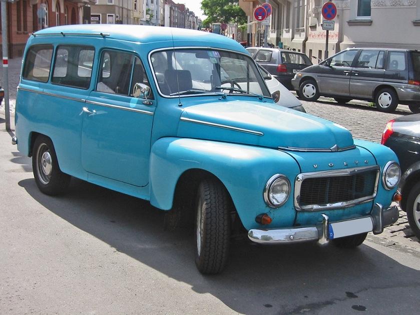 1950 Volvo duett v sst