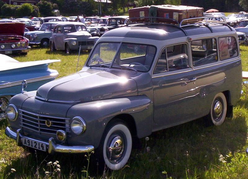 1950 Volvo PV 445 Duett Station Wagon1