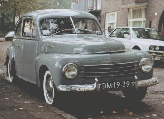 1950 Volvo PV444 4