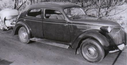 1950 Volvo PV821 1