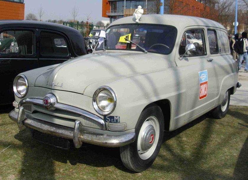 1951-64 Simca Aronde Lieferwagen