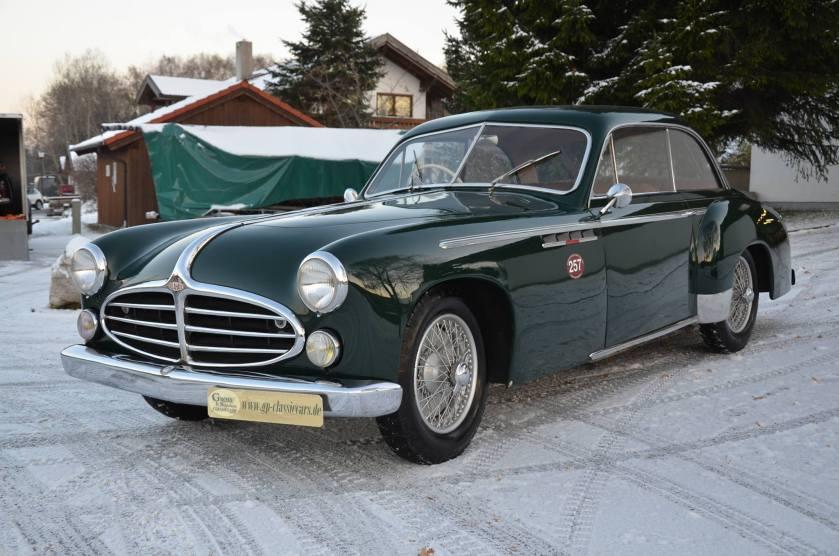 1951 Delahaye 235 coupe von Henry Chapron