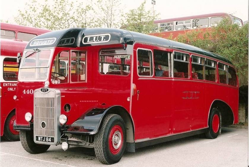 1951 Guy Arab III with unusual Roe coach body