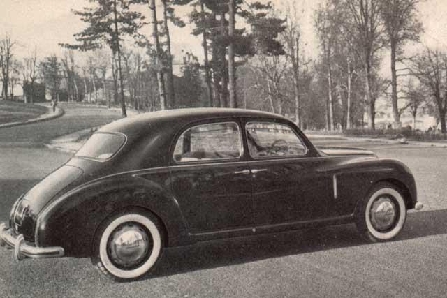 1951 lancia aurelia-sv