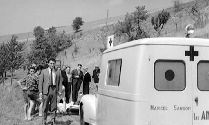 1951 Peugeot 203 Ambulance