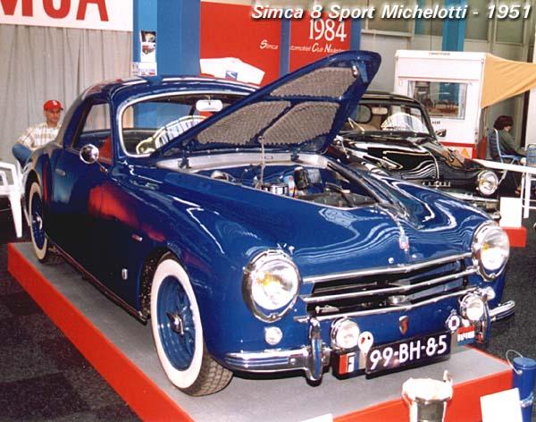 1951 Simca 8 Sport Michelotti