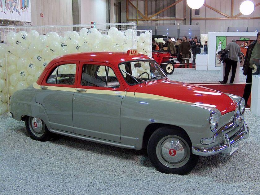 1951–1955 Simca aronde taxi